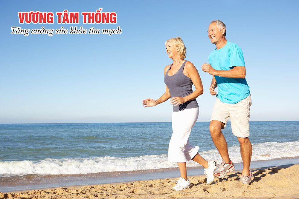 Đi bộ nhẹ rất tốt cho sức khỏe của người bệnh suy tim sung huyết